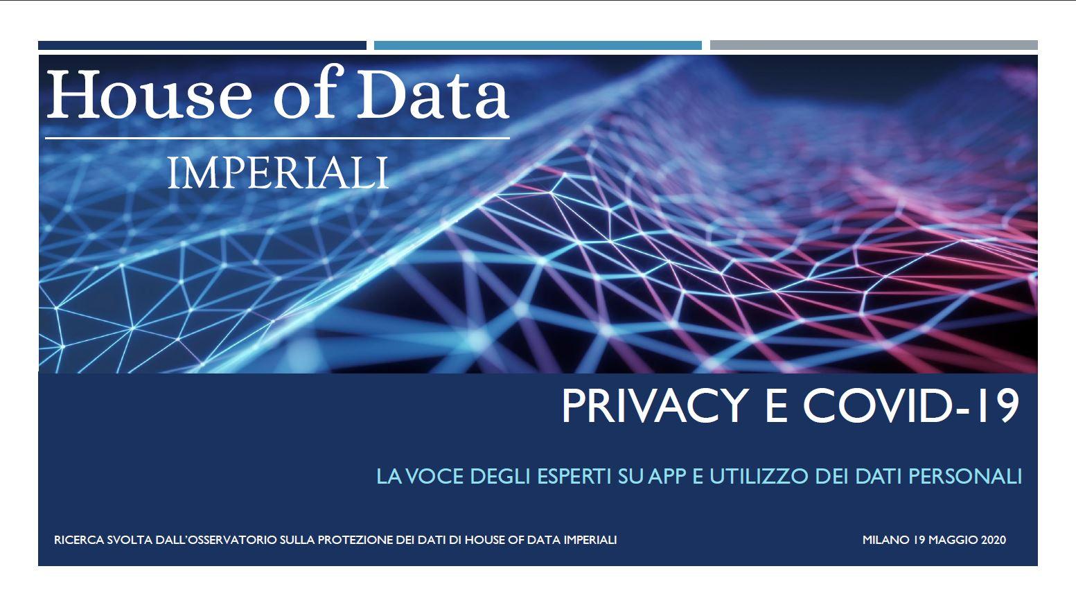Indagine Covid-19 e Privacy